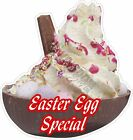 EASTER EGG SPECIAL, ICE CREAM, STICKER, DIE-CUT UV LAMINATED