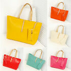 Fashion Women Leather Tote Shoulder Handbag Satchel Messenger Shopping Bag Purse
