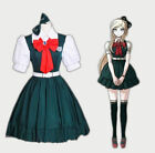 Super Dangan Ronpa Danganronpa Sonia·Nevermind Green Dress Cosplay CostumeHHD.50
