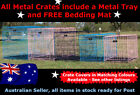 """Metal Collapsible Pet/Dog/Cat Crate/Cage 24"""""""