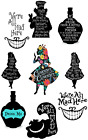 Alice In Wonderland Quotes Were All Mad Here Wall Sticker Decal Lot Aw