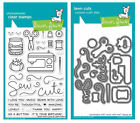Lawn Fawn Stamps OR Die Set - Sewn with Love (LF1309 Stamps) OR (LF1310 Dies)