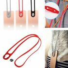 Silicone Lanyard Neck Rope Strap Wrist Bands Stick-on Buckle For Samsung iPhone