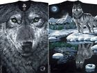 ARCTIC WOLF- OVERALL LARGE PRINT 2 SIDED T-SHIRT-3X, 4X, 5X, 6X PLUS SIZES