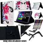 Folio Stand Leather Cover Case For Various CHUWI Hi8 Hi10 HiBook Tablet+ STYLUS