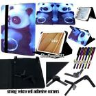 """New Folio Stand Leather Cover Case For Various Excelvan 7"""" 10"""" Tablet+ STYLUS"""