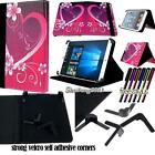"Folio Stand Leather Cover Case For Various ONDA 9"" 10.1"" Models Tablet + STYLUS"