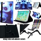 """Folio Stand Leather Cover Case For Various 9.7"""" 10.1"""" Teclast Tablets + STYLUS"""