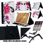 New Folio Stand Leather Cover Case For Various TOSHIBA Model Tablets + STYLUS