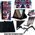Folio Stand Leather Cover Case For Various Nvidia Tegra / Shield Tablet + STYLUS