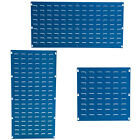 Blue Louvre Panel For Plastic Parts Bins