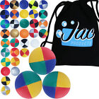 Set of 3 Jac Products Pro Thud Juggling Balls & Travel Bag!