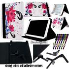 Universal Folio Stand Leather Cover Case For Various 9* 10* Models Tablet + pen