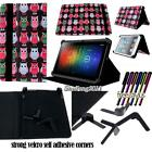 "New Folio Stand Leather Cover Case For Various 7"" 9"" 10"" iRULU Tablet + STYLUS"