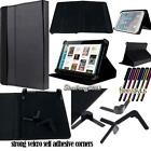 "Folio Stand Leather Cover Case For Various 7"" 10"" Kobo Models Tablet + STYLUS"