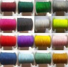 10 METRES OF FINE THIN NYLON THREAD, CORD, 0.5MM, STRINGING NECKLACE, BRACELET