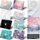 "Matt Laptop Classic MARBLE Hard Case +Key Cover for Macbook Pro 13""15""Air 11""13"""