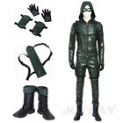Green Arrow Season 5 Oliver Queen Cosplay Costume Customized