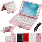 Leather Bluetooth Keyboard Case Cover for Samsung Galaxy Tab A 8.0 10.1 4 7.0