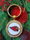 RHINESTONE KEYRING/  PENDANT W/ NFL ARIZONA CARDINALS SETTING JEWELRY on eBay