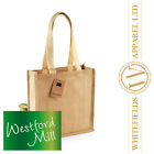 Westford Mill - Jute Compact Tote WM406