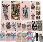 SLIM SILIKON iPHONE Print Motiv INDIA TIERE animal CASE COVER Schutzhülle Handy
