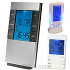 Digital Temperature Humidity Meter LCD Room Indoor Thermometer Hygrometer Clock