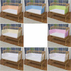 WALDIN Baby Co-sleeper bed,Cradle,Baby bed, with Bumper and Mattress ! 8 Farben