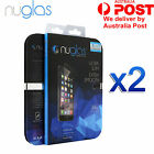 2 X Genuine Nuglas I Phone 7 7 plus Tempered Glass Screen Protector Film