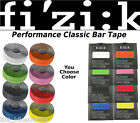 Fizik Performance 3mm Thick Handlebar Bar Tape Road Bike Black Red White