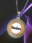 Kyпить STERLING SILVER ROPE PENDANT W/ PITTSBURGH STEELERS b SETTING JEWELRY GIFT на еВаy.соm