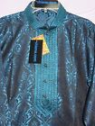 Men's 7625 Blue Kameez Kurta Pajama 2 Pieces Set Shieno Sarees