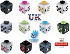 Fidget Cube Desk Toy Children Desk Toy Adults Stress Relief Cubes UK + Free Bag