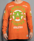 NEW MENS AMERICAN FIGHTER BY AFFLICTION DAVENPORT ORANGE THERMAL SHIRT