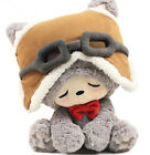 plush toy stuffed doll cute dream pilot lucky cat bowknot cushion kitty gift 1pc