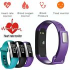 M2 Smart Watch Band Heart Rate Monitor/Blood Pressure/Oximeter Fitness Tracker