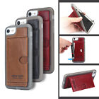 Pierre Cardin Silicone TPU Leather Card Slot Stand Case Cover For iphone 7/Plus
