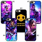Sombra overwatch pretty cool nice cute handpaint anime iPhone soft rubber case