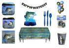 Gone Fishing  Party in a Box or Party Ware Separates - Decorations Serves 8 fnt
