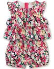Juicy Couture Toddler Girls Multi-Color Ruffles Romper Size 2T 3T 4T $60
