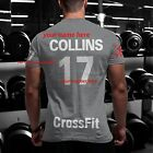 CrossFit Tshirt i YOUR NAME Training Functional Sport Workout Strength Gym WOD