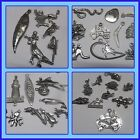 Aussie animal & Aussie icon pewter Charms Australian made DIY scrap book charms