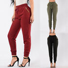 Plus Size Womens Pencil Casual Skinny Harem Pants Highwaisted Casual Trousers