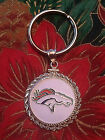STERLING SILVER ROPE PENDANT W  NFL DENVER BRONCOS a SETTING JEWELRY GIFT