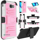 Hybrid Phone Case Stand Holster Clip Cover For Samsung Galaxy J7 V/Sky Pro/Prime фото