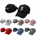 New Chance The Rapper 3 Hat Baseball Cap - Adjustable Letter Embroidery Hip Hop