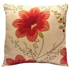 Harlequin Constance Delphine Red Cushion Cover