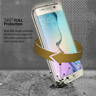 Shockproof 360 Silicone  Clear Case Cover For Samsung Galaxy A5 2017 S7EGDE  ETC