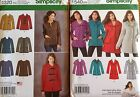 Simplicity 1320, 1540 Misses Jackets Assorted Styles & Sizes  You Pick  NEW