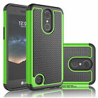Armor Shockproof Rugged Rubber Defender Hard Case Cover For LG K10 2017/K20 Plus